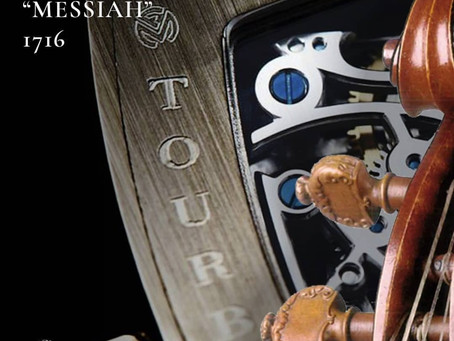 Parallelism: Stradivari Messiah and the Tourbillon Skeleton by Franck Muller