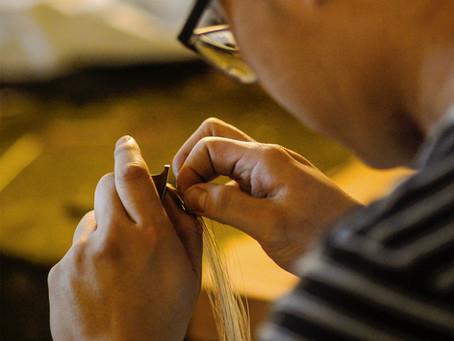 The bow hairing's characteristics