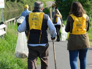 Giornata del Verde Pulito: più di 50 i volontari che hanno ripulito le sponde lungo il Villoresi
