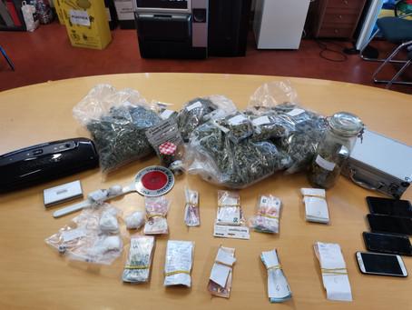 operazione Comando di Polizia Locale: arresto per spaccio stupefacenti