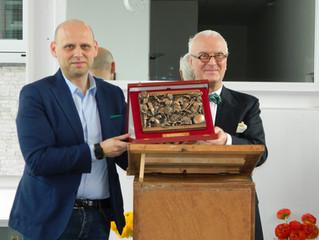 Manolo Blahnik cittadino onorario della Città della calzatura!
