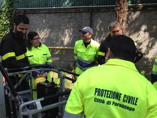 La Protezione Civile compie 30 anni... come la Città di Parabiago!