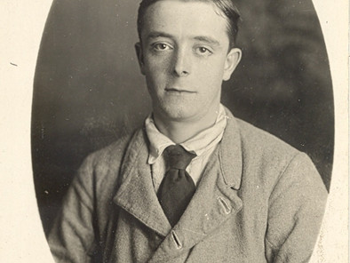 Mystery of George's #WW1 wound