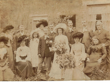 Mystery wedding and jaunty hats