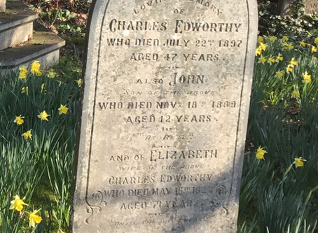 Churchyard mysteries - a tragic story