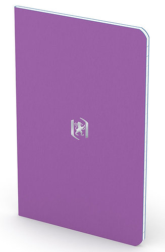 """Oxford zápisník """"Pocket Notes"""", 9x14cm, linkovaný, 24 listů, fialový"""