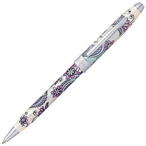 """Cross kuličkové pero """"Botanica"""", fialová orchidej"""