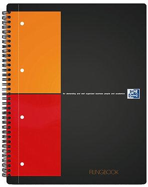 "záznamní kniha ""Filingbook"" A4+ čtverečkovaná 100 listů"