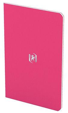 zápisník 9x14cm linkovaný 24 listů růžový