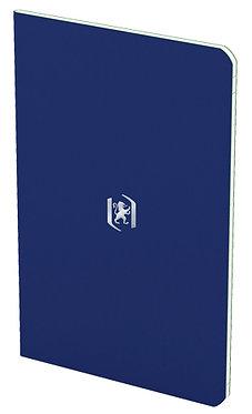 zápisník 9x14cm linkovaný 24 listů tmavě modrý