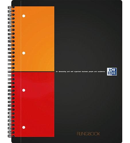 """Oxford záznamová kniha """"Filingbook"""", A4+, štvorčeková, 100 listov"""