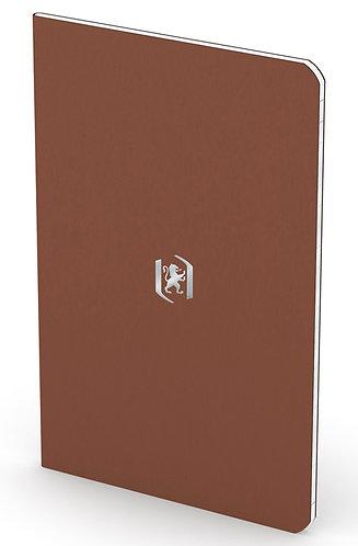 """Oxford zápisník """"Pocket Notes"""", 9x14cm, linkovaný, 24 listů, hnědý"""