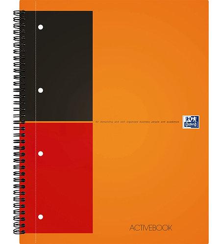 """Oxford zápisník """"Activebook"""", A4+, linkovaný, 80 listů"""