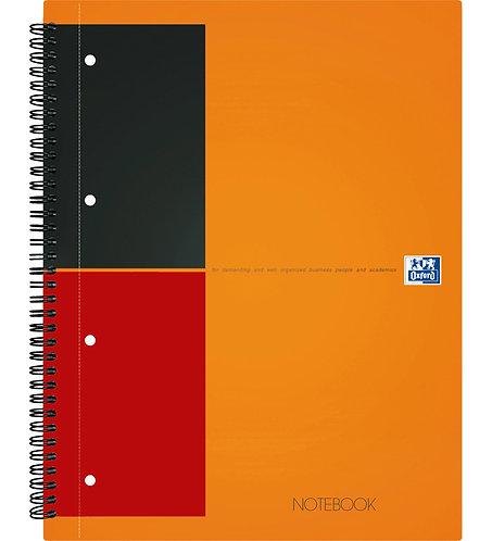 "Oxford záznamní kniha ""Notebook"", A4+, linkovaná, 80 listů"