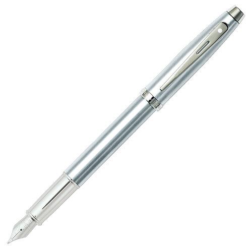 """Sheaffer plniace pero """"100"""", brúsený chróm, hrot F"""