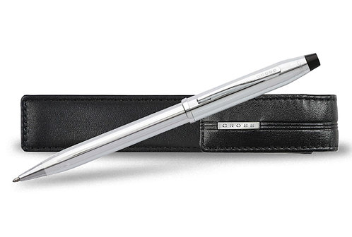 """Cross kuličkové pero """"Century II"""", chrom, sada s pouzdrem"""