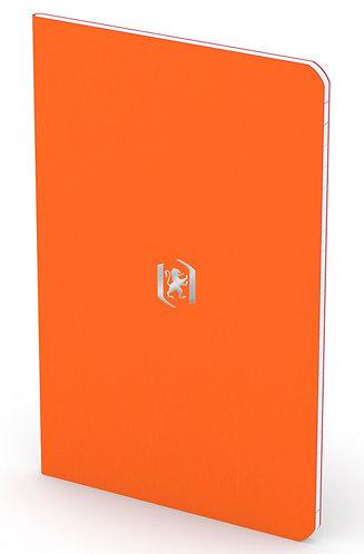 """Oxford zápisník """"Pocket Notes"""", 9x14cm, linkovaný, 24 listů, oranžový"""