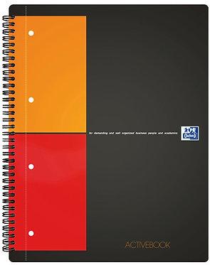 """zápisník """"Activebook"""" A4+ čtverečkovaný 80 listů"""