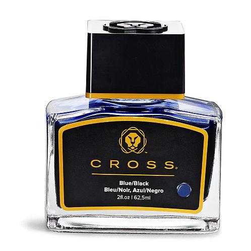 Cross atrament vo fľaštičke, 62.5ml, modročierny