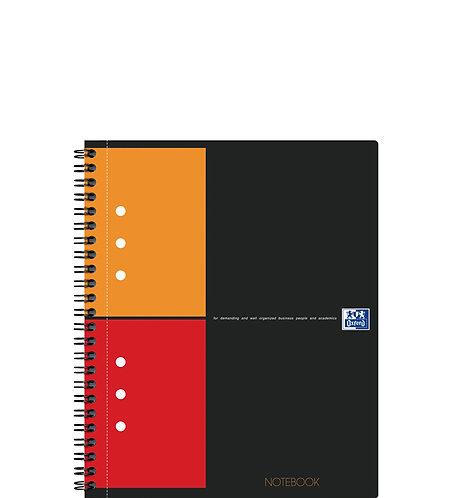 """Oxford záznamní kniha """"Notebook"""", A5+, čtverečkovaná, 80 listů"""