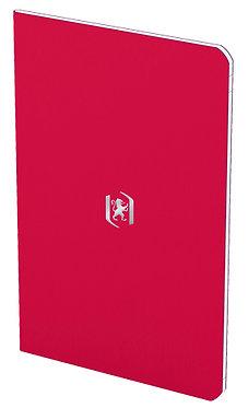 zápisník 9x14cm linkovaný 24 listů rubínový