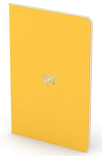 """Oxford zápisník """"Pocket Notes"""", 9x14cm, linkovaný, 24 listů, žlutý"""