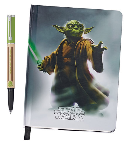 "Sheaffer roller + zápisník ""Star Wars™ POP"", Yoda™"