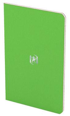 zápisník 9x14cm linkovaný 24 listů světle zelený
