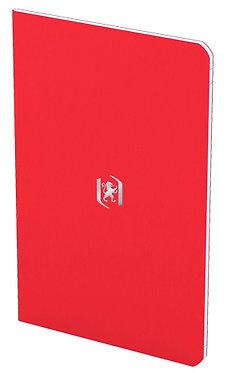 zápisník 9x14cm linkovaný 24 listů červený