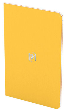 zápisník 9x14cm linkovaný 24 listů žlutý