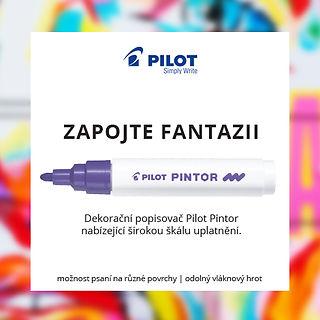 Pilot Pintor dekorativní popisovače