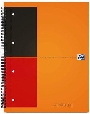 """zápisník """"Activebook"""" A4+ linkovaný 80 listů"""