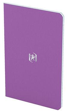 zápisník 9x14cm linkovaný 24 listů fialový
