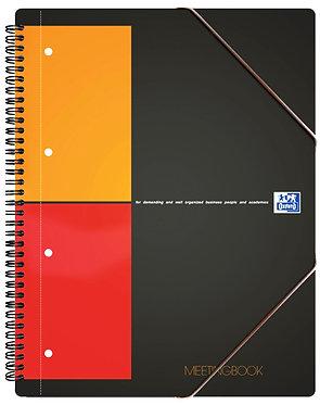 """zápisník """"Meetingbook"""" A4+ čtverečkovaný 80 listů"""