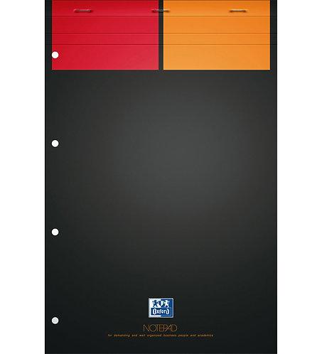 "Oxford blok ""Notepad"", A4+, čtverečkovaný, 80 listů"