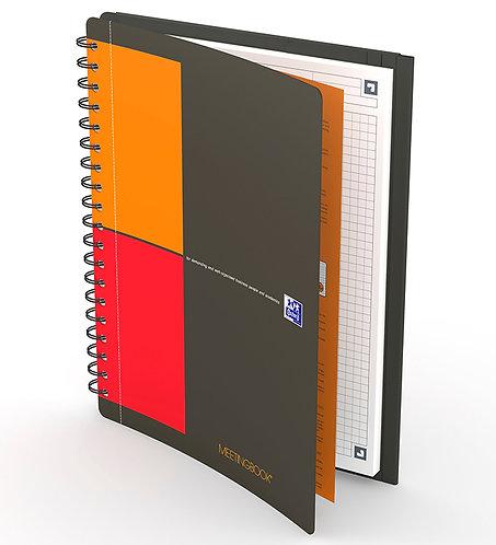 celkový pohled na zápisník Oxford Notebook B5 čtverečkovaný