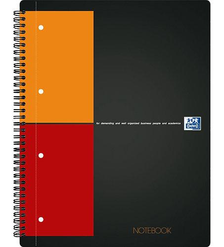 """Oxford záznamní kniha """"Notebook"""", A4+, čtverečkovaná, 80 listů"""