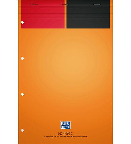 """Oxford blok """"Notepad"""", A4+, linajkový, 80 žltých listov"""
