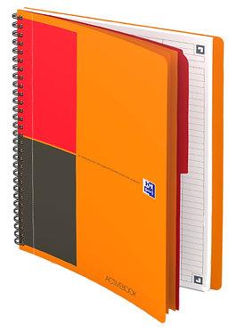"""zápisník """"Activebook"""" B5 linkovaný 80 listů"""