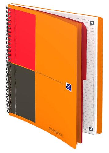 """Oxford zápisník """"Activebook"""", B5, linkovaný, 80 listů"""