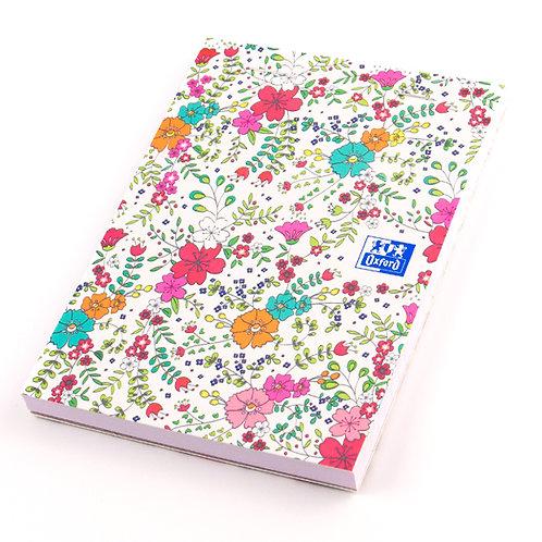 """Oxford zápisník """"Floral"""", A6, linkovaný, 80 listů"""