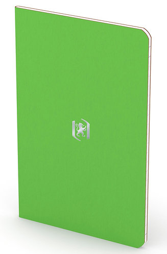 """Oxford zápisník """"Pocket Notes"""", 9x14cm, linkovaný, 24 listů, světle zelený"""