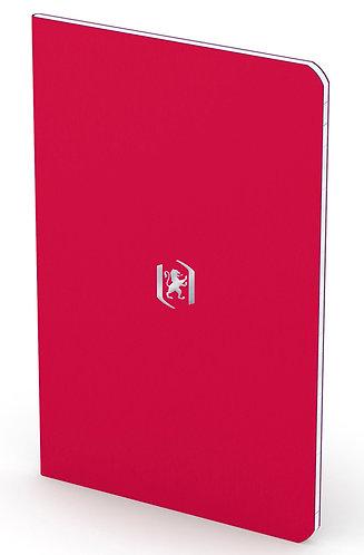 """Oxford zápisník """"Pocket Notes"""", 9x14cm, linkovaný, 24 listů, rubínový"""