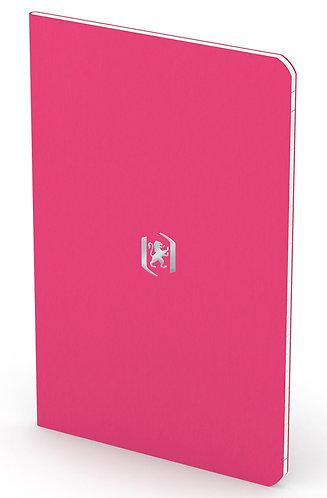 """Oxford zápisník """"Pocket Notes"""", 9x14cm, linkovaný, 24 listů, růžový"""