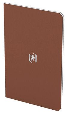 zápisník 9x14cm linkovaný 24 listů hnědý