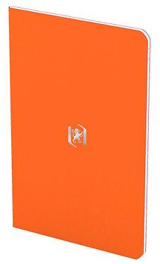 zápisník 9x14cm linkovaný 24 listů oranžový