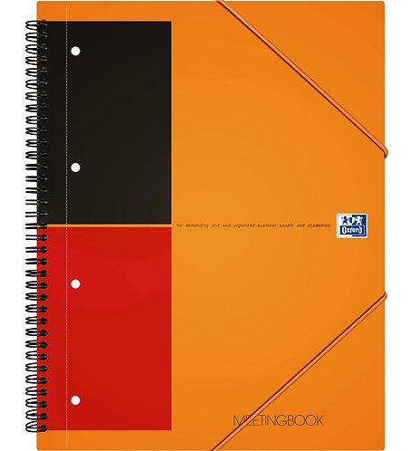 """Oxford zápisník """"Meetingbook"""", A4+, linkovaný, 80 listů"""