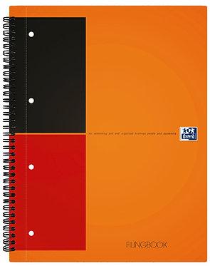 """záznamní kniha """"Filingbook"""" A4+ linkovaná 100 listů"""