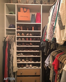 The Evolution of a Woman's Closet.