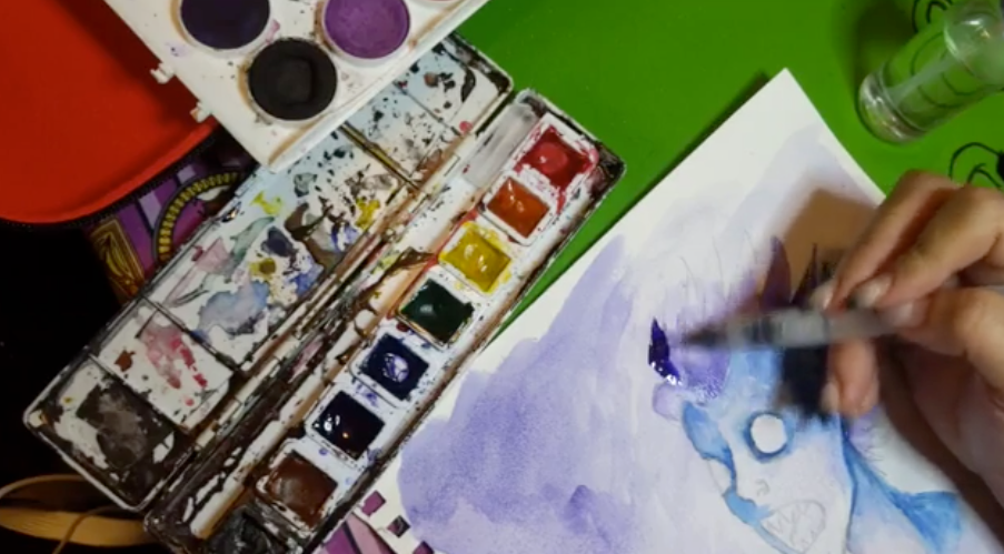 Watercolor Painting Online Art Class